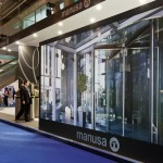Trade show stand of Manusa in Construmat.